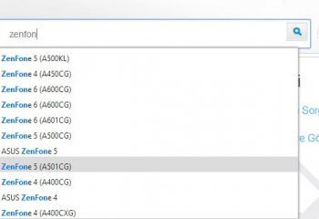 Asus ZenFone 5 Yazılım Güncelleme