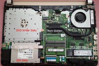 HP 14-BS019NT 2NN30EA Anakart ve SSD Montajı