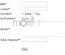 jQuery ve Php İle Anında Form Kontrolü