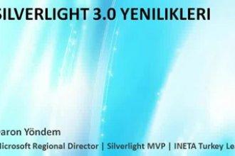 Daron Yöndem'den Silverlight 3.0 Online Seminerler