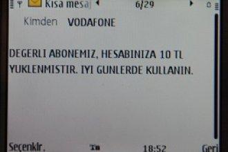 Vodafone Habersiz Sms Paketi Tanımlamış!