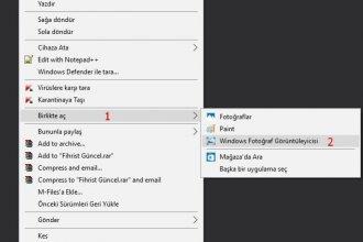 Windows 10'da Fotoğraf Görüntüleyicisini Etkinleştirmek